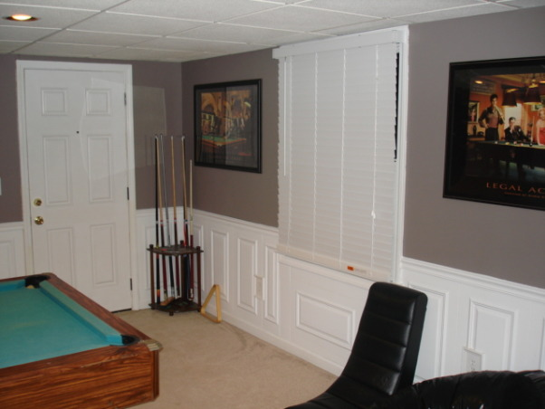 Exercise and Pool Room, Exercise and Pool Room, Basements Design