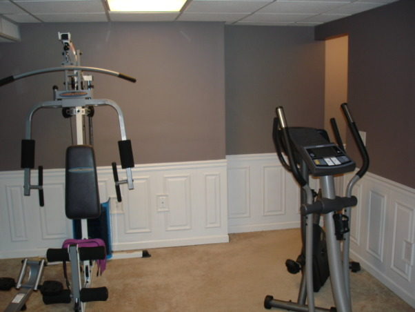Exercise and Pool Room, Exercise and Pool Room, Exercise room, Basements Design