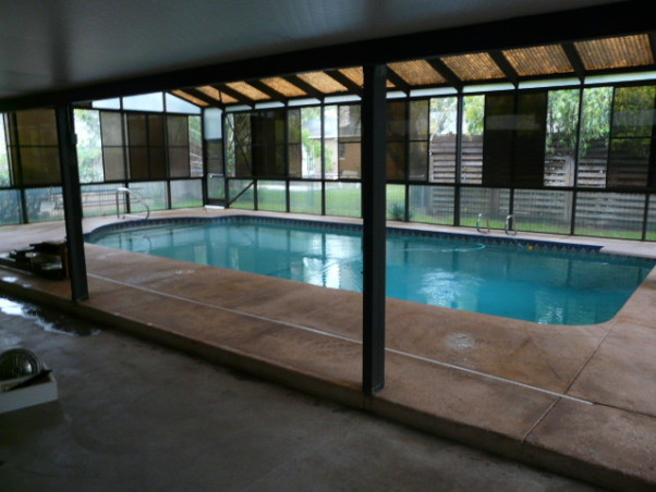 301 moved permanently for Plexiglass pool enclosure