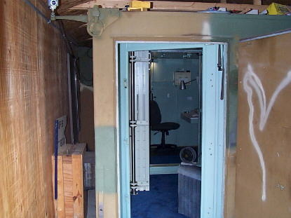 Man Cave, this is my private space the BUNKER where I go but Brenda never comes. you can see it at http://www.jimyo.psend.com/bunker.html, front door , Other Spaces Design