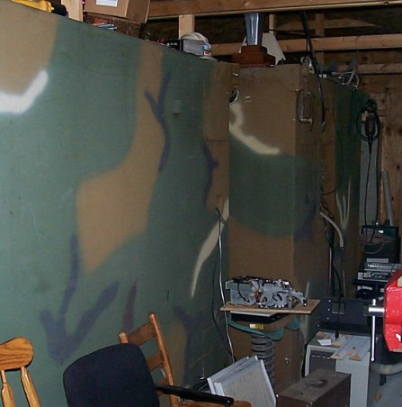 Man Cave, this is my private space the BUNKER where I go but Brenda never comes. you can see it at http://www.jimyo.psend.com/bunker.html, outer walls two rooms 9x7 , Other Spaces Design