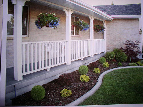 Dry hot Climate, Low maintance, Front yard landscape design, Low maintance, Front Yard landscape design for Dry, Hot climate, The porch        , Yards Design