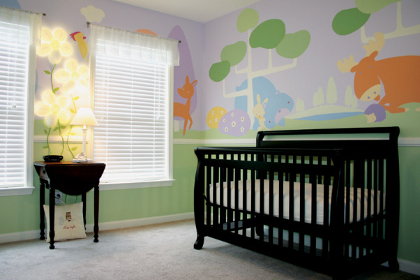 Northwoods Nursery, Fun and Funky girl's nursery, with just enough sugar and spice to sweeten a baby girl's day. , Welcome to the Northwoods , Nurseries Design
