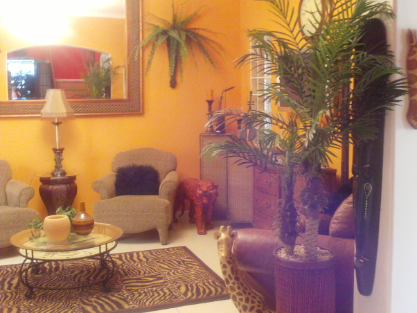 Jungle theme living room gone wild, king of the Jungle, Jungle 2, Living Rooms Design