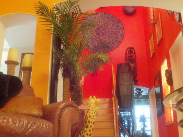 Jungle theme living room gone wild, king of the Jungle, In the jungle them, Living Rooms Design