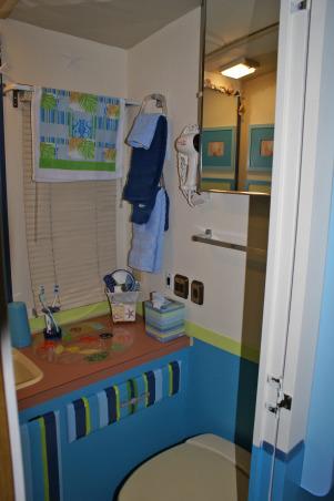 RV Bathroom Renovation, RV Bathroom gets renovated., The tiny bathroom ...