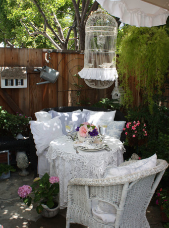 Apartment Cottage Garden, Patios Design