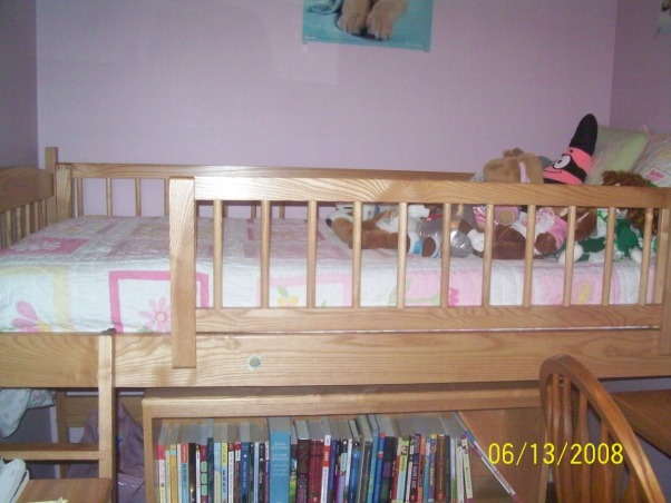 11 year old girl bedroom, my room is really small and we will never move so i am stuck with it i am really looking for help becuase i really dislike this room!, Um this is my bed and a little bit of my bookshelf., Girls' Rooms Design