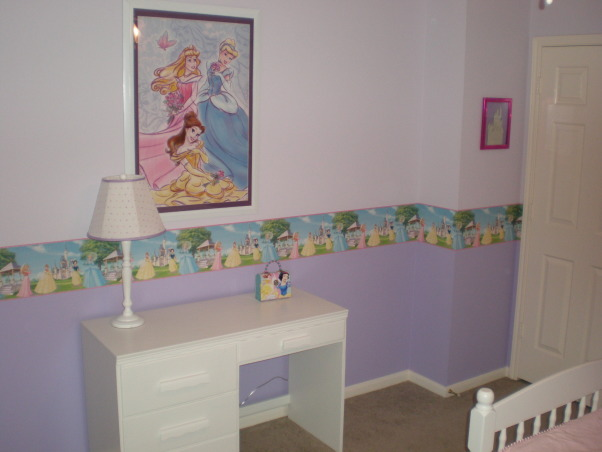 Princess Room, This is a Princess Room for our 4 year old daughter.  , desk , Girls' Rooms Design