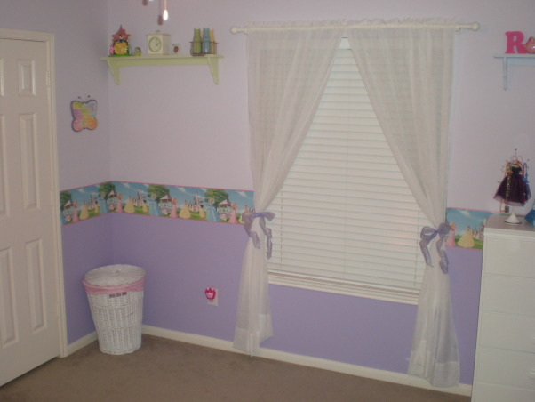 Princess Room, This is a Princess Room for our 4 year old daughter.  , window , Girls' Rooms Design