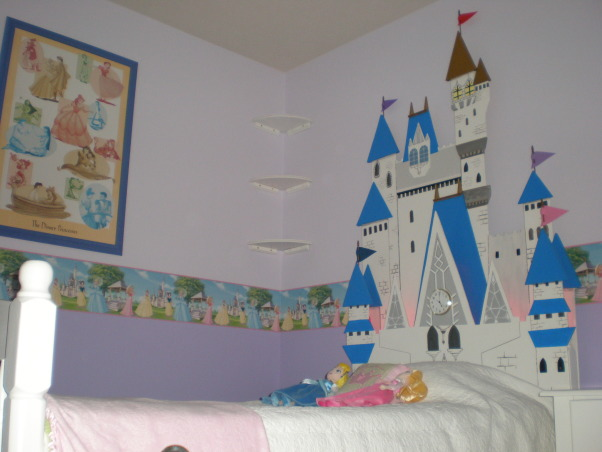 Princess Room, This is a Princess Room for our 4 year old daughter.  , bed  , Girls' Rooms Design