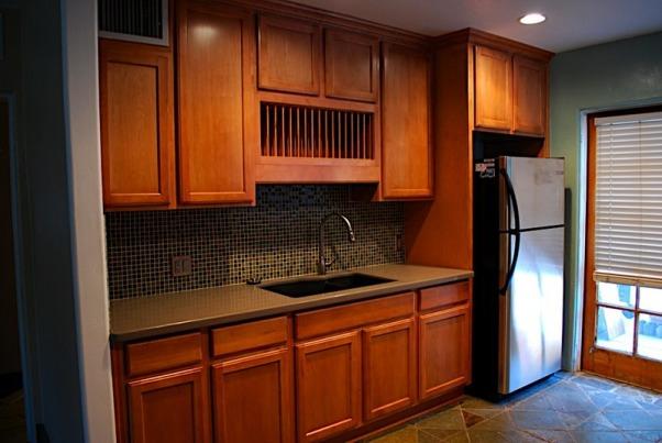 My 1950's Ranch-Style Kitchen Transformation, I transformed a 1950's ranch-style kitchen into a modern, functional kitchen., After - Sink Side, Kitchens Design