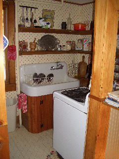"Creating a ""new"" 1830's kitchen!, Renovated a former den space in an old 1830's farmhouse in Columbia County.  The old kitchen was then turned into a laundry room. The Turbo Chef Double oven is the highlight of the space! , The old Kitchen! Just a tiny room!    , Kitchens Design"