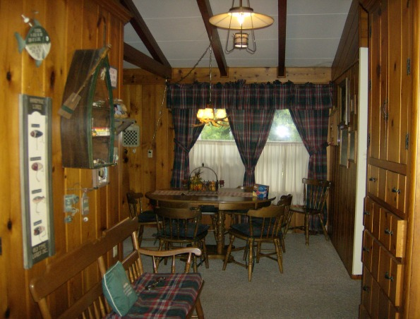 Family room - man cave, Lodge/fishing cabin decorated family room with husband in mind.  Children are raised -- now it's his turn!, Entrance to man cave/lodge type room  , Other Spaces Design