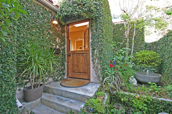 1924 Spanish Converted Bungalow Two-Storey in Heart of Los Angeles, Home Exterior Design