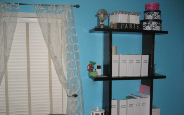 """Wife's Office Remodel 2009 - before & after, Her office was a mess and she wanted a more """"girlie space"""".  So, we remodeled it and it converts to a guest room as well. Turned out nice. , Home Offices"""