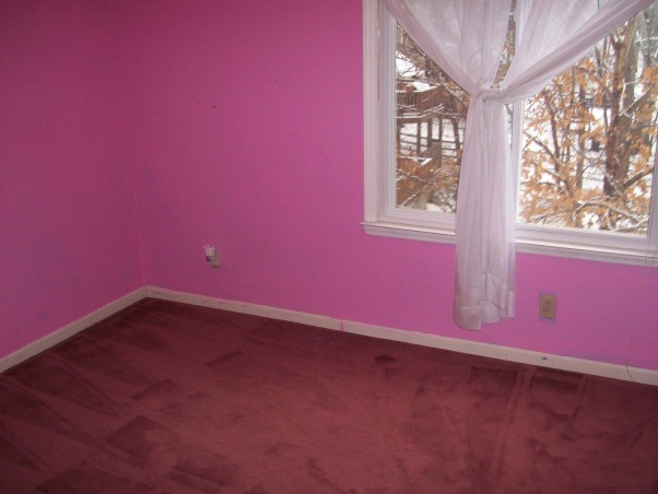 Baby Jack's room, This is the nursery for our first baby...a little boy due in August.  When we bought our home, this room was an awful neon pink with mauve carpet...here is the transformation to Jack's room today!, This is the BEFORE, Nurseries Design
