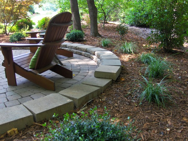 Patio in the Woods, Landscaping