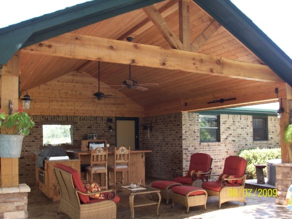 rustic outdoor living room for hom | Information About Rate My Space | Questions for HGTV.com ...