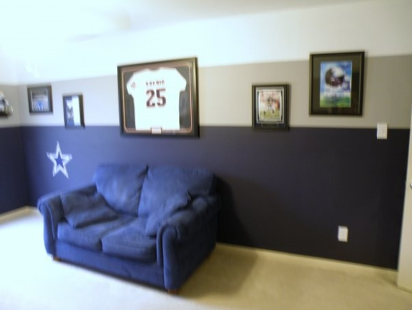dallas cowboys game room this is my dallas cowboys game room that i