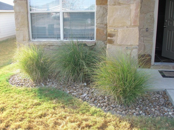 Stone Finish Exterior, Simple and Elegant, You can kind of see a trend in the kind of  bushes I like.    , Home Exterior Design
