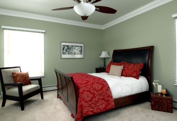 Relaxing Master Bedroom Master Bedroom With Darker But Modern Style