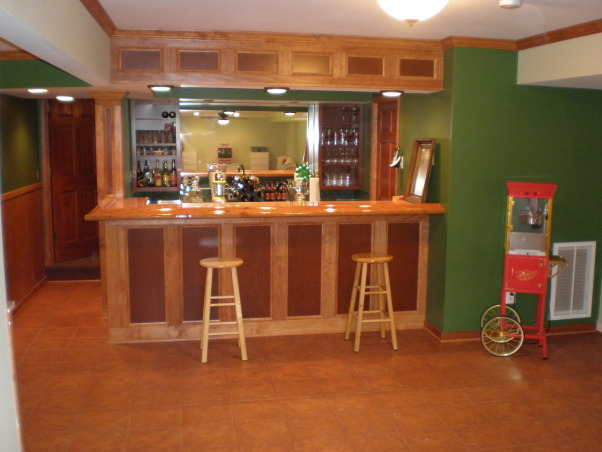 claire 39 s irish pub the wet bar in front of our movie theater we