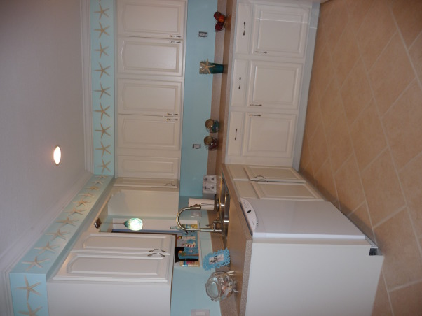 Beach Style Kitchen Makeover, Renovated old dull kitchen with bright beach style., Almost finished., Kitchens Design