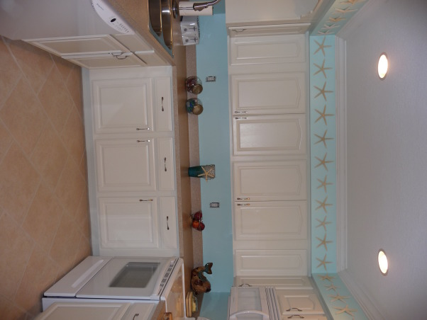 Beach Style Kitchen Makeover, Renovated old dull kitchen with bright beach style., New tile too!, Kitchens Design