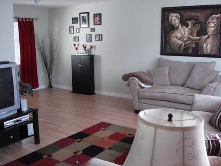 L-Shaped Living Room, L-Shaped living room that needs HELP!, From the front door, Living Rooms Design