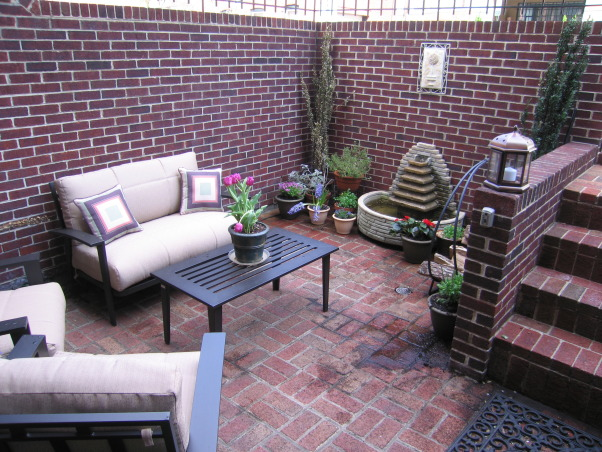 Townhouse Backyard Decks : DC townhouse patio, Patios & Decks Design
