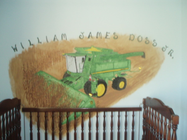 John Deere Boys' Room , I have 3 girls and 1 Boy !!!!!, MY son was born on  September 12th So fall Harvest  was Just right    , Boys' Rooms Design