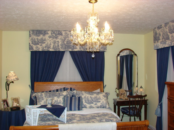 Blue Toile Decorating Ideas: 301 Moved Permanently