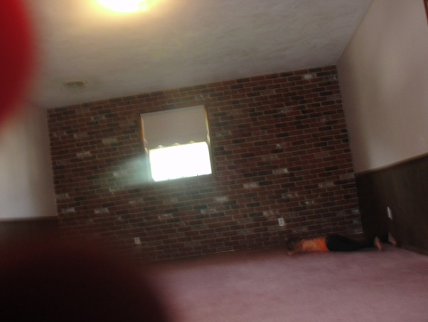 My Dream Master Bedroom, We completely gutted this space and made it our own dream master bedroom. I love it head to toe!, Before Picture #1. This was real brick covering an entire wall. , Bedrooms Design