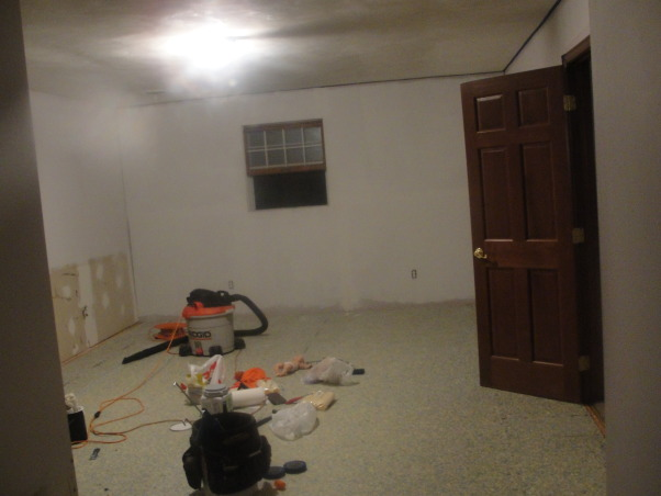 My Dream Master Bedroom, We completely gutted this space and made it our own dream master bedroom. I love it head to toe!, As we started to work...brick is gone!, Bedrooms Design