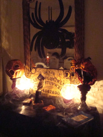 Haunted Halloween Party, These photos were taken prior to my annual Halloween party. I will be adding more as I take them. , Dining Rooms Design
