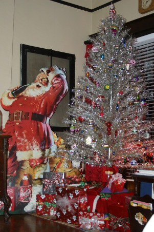 Christmas Tree With Rotating Stand