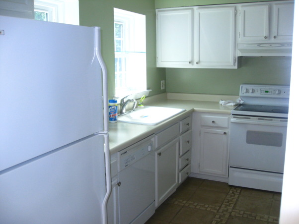 Reno of a Small Kitchen (12X12), 1960s townhouse kitchen closed off from other rooms and with original cabinetry, old appliances and formica countertops., Old fridge/cabinets.    , Kitchens Design