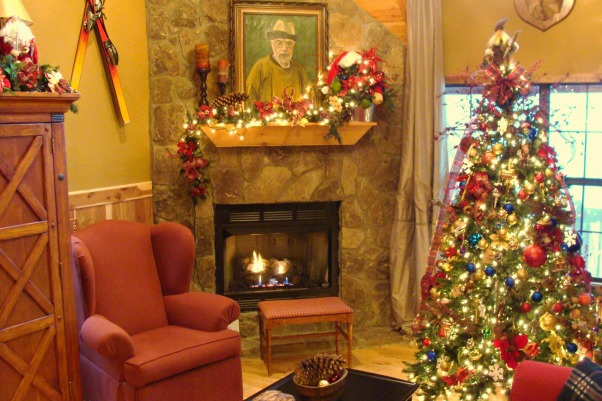 Christmas at Buckhorn Lodge, There's no place like the mountains for a Jolly Holiday Christmas., Christmas in the mountains. , Holidays Design