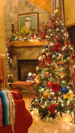 Christmas at Buckhorn Lodge, There's no place like the mountains for a Jolly Holiday Christmas., Hot hearths for the hollidays. , Holidays Design