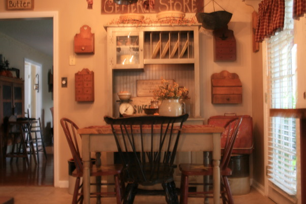 My Primitive/Country Kitchen, This picture is a little blurry. I will try to add some different ones.    , Kitchens Design