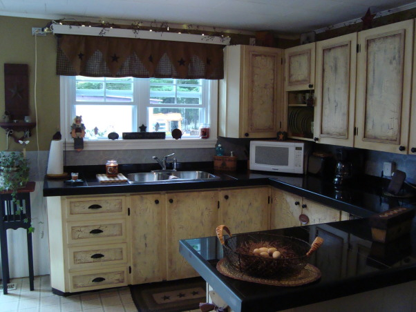 COUNTRY KITCHEN MAKEOVER ON A BUDGET, SIMPLY COUNTRY PRIMITIVE KITCHEN MAKEOVER, AFTER RENO, Kitchens Design