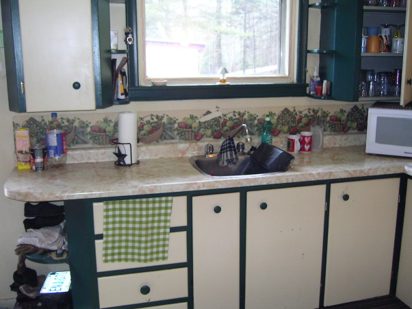 COUNTRY KITCHEN MAKEOVER ON A BUDGET, SIMPLY COUNTRY PRIMITIVE KITCHEN MAKEOVER, 1940's bungalow kitchen BEFORE RENO , Kitchens Design