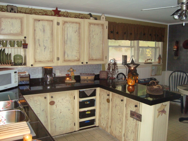 COUNTRY KITCHEN MAKEOVER ON A BUDGET, SIMPLY COUNTRY PRIMITIVE KITCHEN MAKEOVER, not quite finished, but next spring we will add patio doors and new flooring. , Kitchens Design
