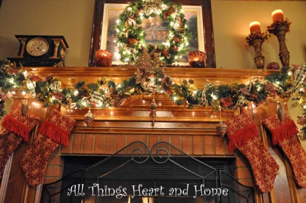 Christmas Open House, Just a peek at how this Southern Girl decks the halls~Welcome!, And the stockings were hung...     , Holidays Design