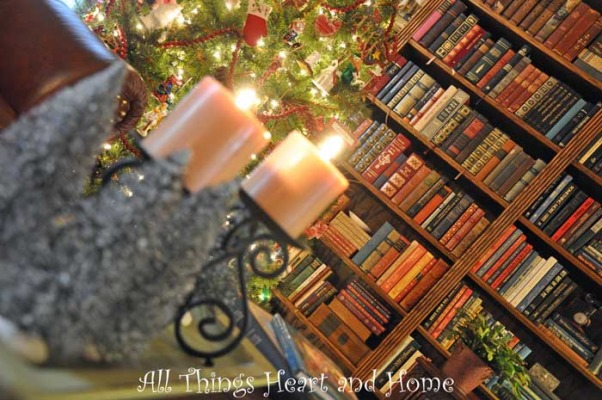Christmas Open House, Just a peek at how this Southern Girl decks the halls~Welcome!, I love my books...     , Holidays Design