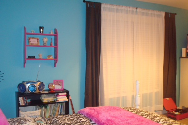 8 year old fun space, My 8 year old daughter wanted a fun bedroom that she felt grown up in.  She is very happy with the way it turned out., Window, Girls' Rooms Design