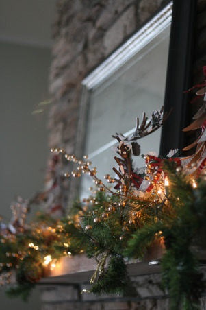 Holiday HOme Tour, We participated in our local home tour this year...whew...I have been doing Christmas since Halloween!  Lots of work....but lots of fun!, Reindeer themed mantle  , Holidays Design