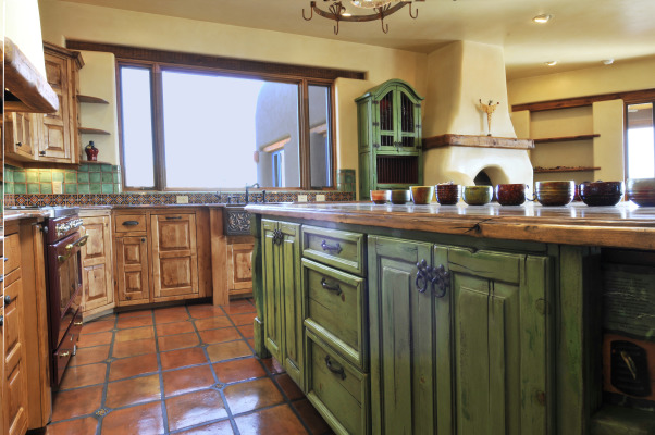 Talamini kitchen, rustic kitchen on a home we recently completed, Kitchens Design