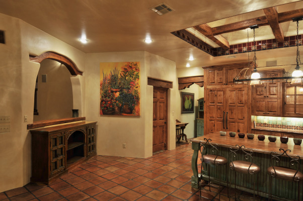 Talamini kitchen, rustic kitchen on a home we recently completed, southwest style, Kitchens Design